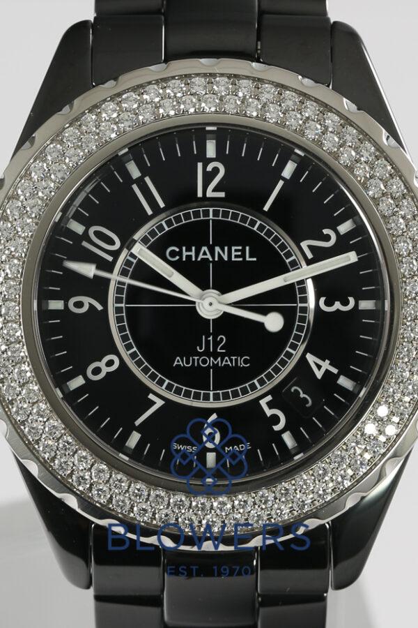 Chanel J12 Black Ceramic H0950