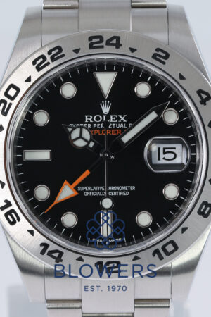 Rolex Oyster Perpetual Explorer II Ref. 216570.